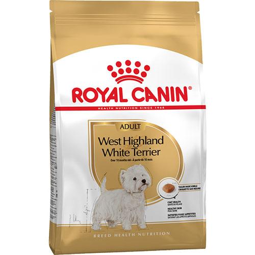 Royal Canin Westie Adult - корм Роял Канин для взрослых вест-хайленд-уайт-терьеров