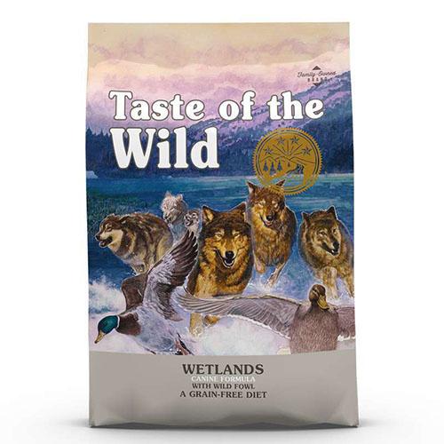 Taste of the Wild Wetlands -  Вкус Дикой Природы беззерновой с жареной дичью для взрослых собак всех пород.