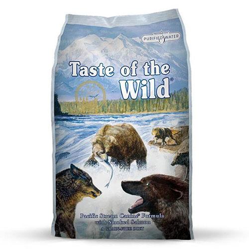 Taste of the Wild Pacific Stream - корм Вкус Дикой Природы с копченым лососем для собак