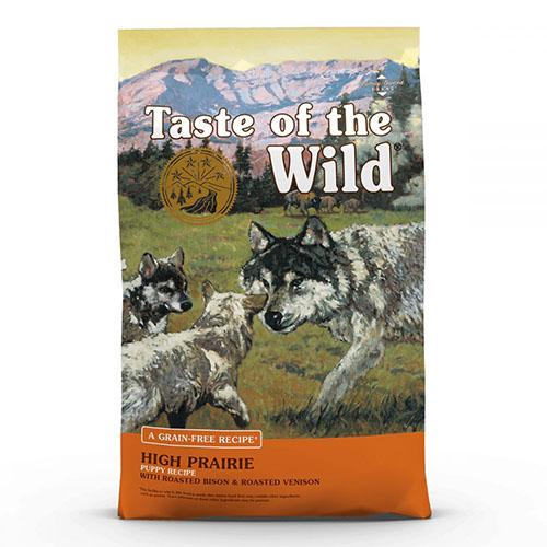 Taste of the Wild High Prairie Puppy - Вкус Дикой Природы беззерновой с жареной олениной и мясом бизона для щенков всех пород.