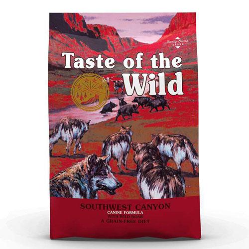 Taste of the Wild Southwest Canyon -  Вкус Дикой Природы беззерновой с мясом дикого кабана для щенков и взрослых собак.
