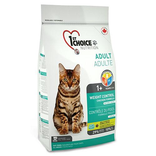 1st Choice Adult Cat Weight Control - Фест Чойс корм для кошек с избыточным весом