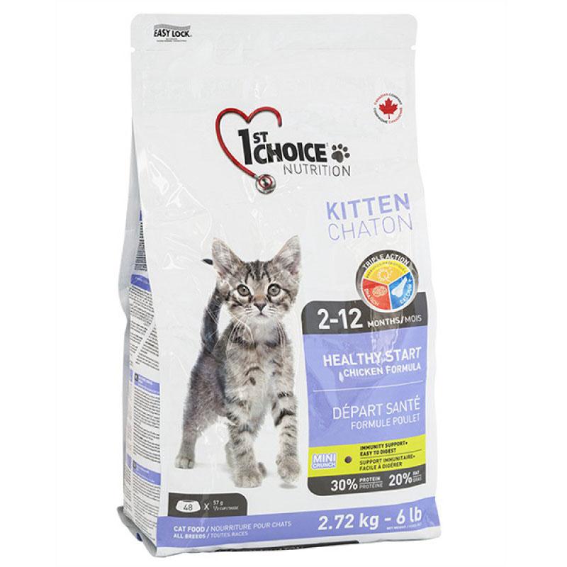 1st Choice Kitten Growth - Фест Чойс корм для котят с курицей