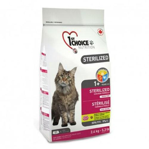 1st Choice Sterilized - Фест Чойс Корм для стерилизованных кошек с курицей