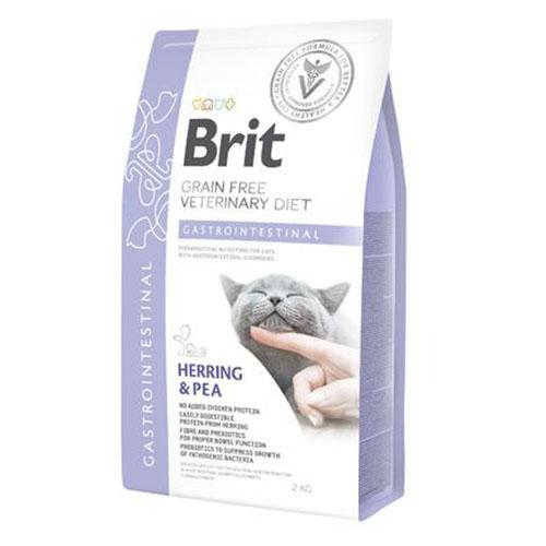Brit GF Veterinary Diet Cat Gastrointestinal - Лечебный сухой корм для кошек при нарушениях пищеварения