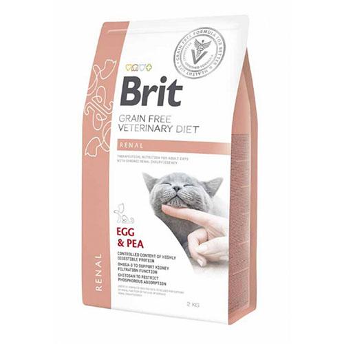 Brit GF Veterinary Diet Cat Renal - Лечебный сухой корм для кошек с хронической почечной недостаточностью