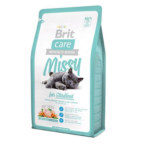 Brit Care Cat Missy for Sterilised - Сухой корм для стерилизованных кошек и котов