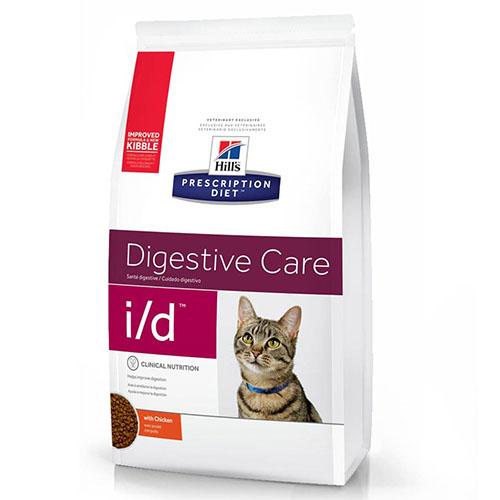 Hills Prescription Diet i/d Chicken Хиллс Лечебный корм для кошек при заболеваниях желудочно-кишечного тракта