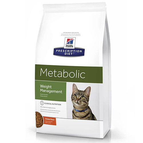 Hills (Хилс) Prescription Diet Canine Feline Metabolic Хиллс Сухой корм для котов и кошек для снижения веса