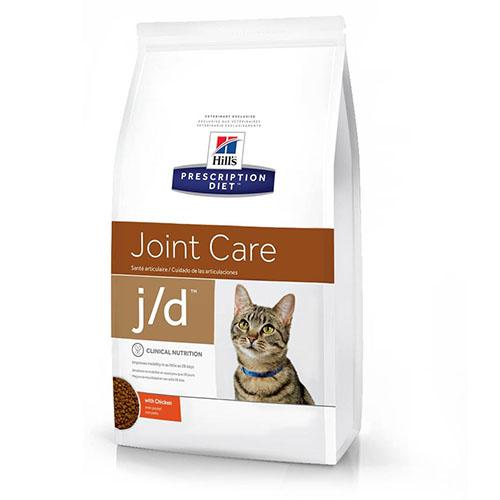 Hills Prescription Diet j/d Хиллс Лечебный корм для кошек с проблемами суставов