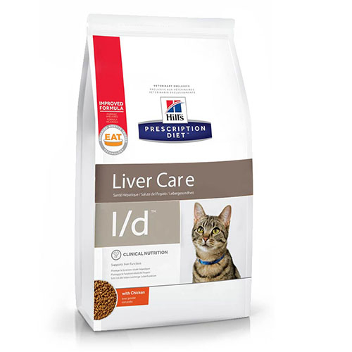 Hills Prescription Diet Liver Care L/d Chicken Хиллс Лечебный корм для котов и кошек при заболеваниях печени