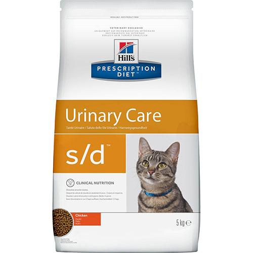 Hills Prescription Diet s/d Хиллс Лечебный корм для кошек при мочекаменной болезни