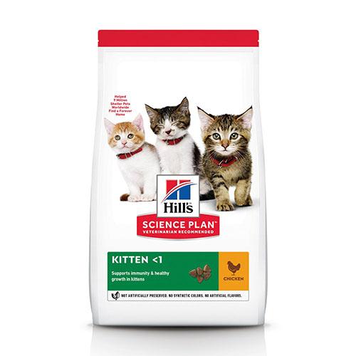 Hill's Science Plan Kitten Chicken Хиллс Гипоаллергенный корм для котят, беременных и кормящих кошек, с курицей