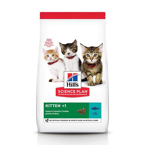Hills Kitten Healthy Development Хиллс Гипоаллергенный корм для котят, беременных и кормящих кошек, с тунцом