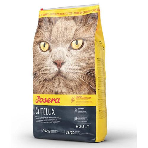 Josera Catelux - Йозера Кателюкс корм для взрослых кошек со склонностью к образованию комков шерсти