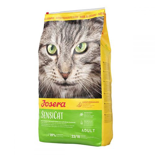 Josera SensiCat - Йозера Сенси Кэт корм для кошек с чувствительным пищеварением с уткой и индейкой