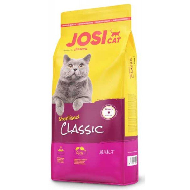 JosiCat Sterilised Classic - ЙозиКет Стерелайзд Клессик - корм для стерилизованных котов и кошек