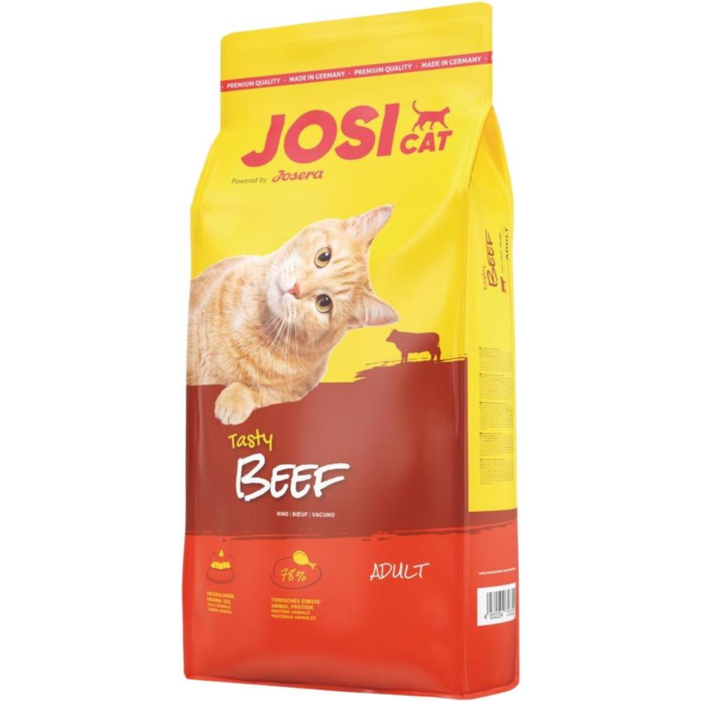 JosiCat Tasty Beef Сухой корм для взрослых кошек с говядиной