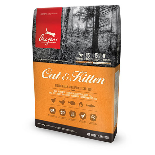 Orijen Cat and Kitten - Корм для всех пород котов и котят