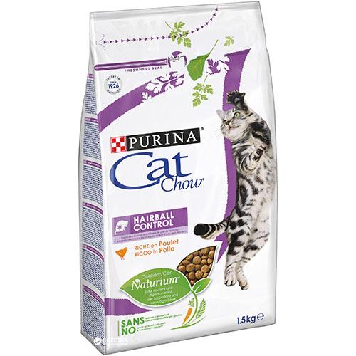 Purina Cat Chow (Кет Чау) Hairball - Сухой кошачий корм для выведения шерсти из ЖКТ