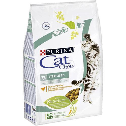 Purina Cat Chow (Кет Чау) Sterilised (стерилисед) корм для стерилизованных кошек