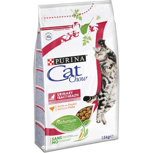Purina CAT CHOW (Кет Чау) Urinary Tract Health (Уринари Тракт Хелс) Сухой кошачий корм для здоровья мочевыводящих путей c домашней птицей