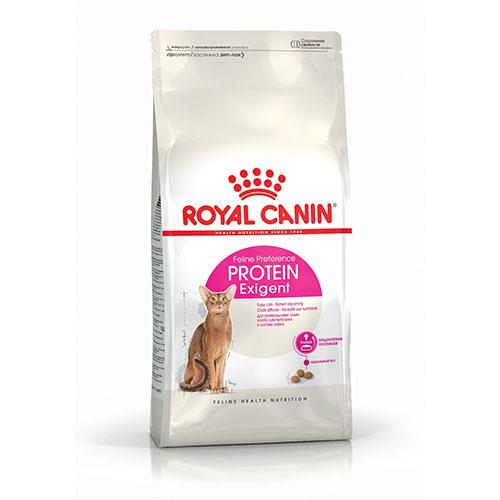 Royal Canin Exigent Protein - корм Роял Канин для взрослых кошек, привередливых к составу