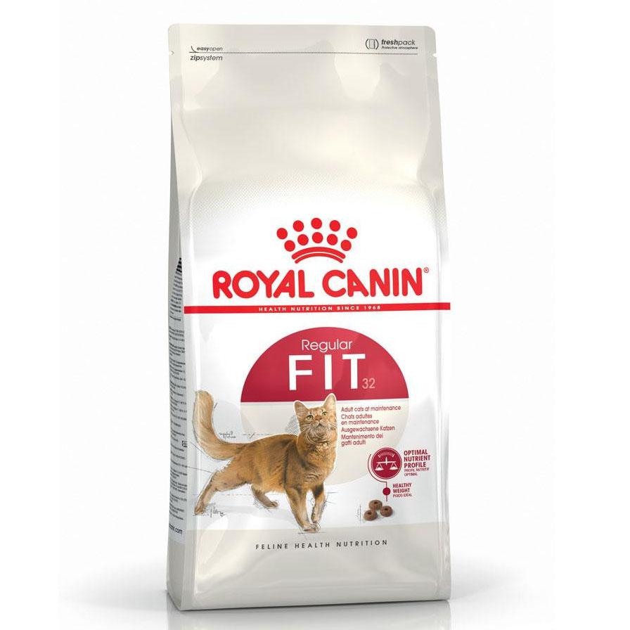 Royal Canin Fit 32 - корм Роял Канин для кошек в возрасте от 1 до 10 лет в хорошей физической форме