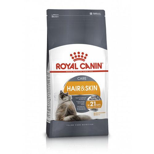 Royal Canin Hair and Skin Care - корм Роял Канин для поддержания здоровья кожи и шерсти кошек