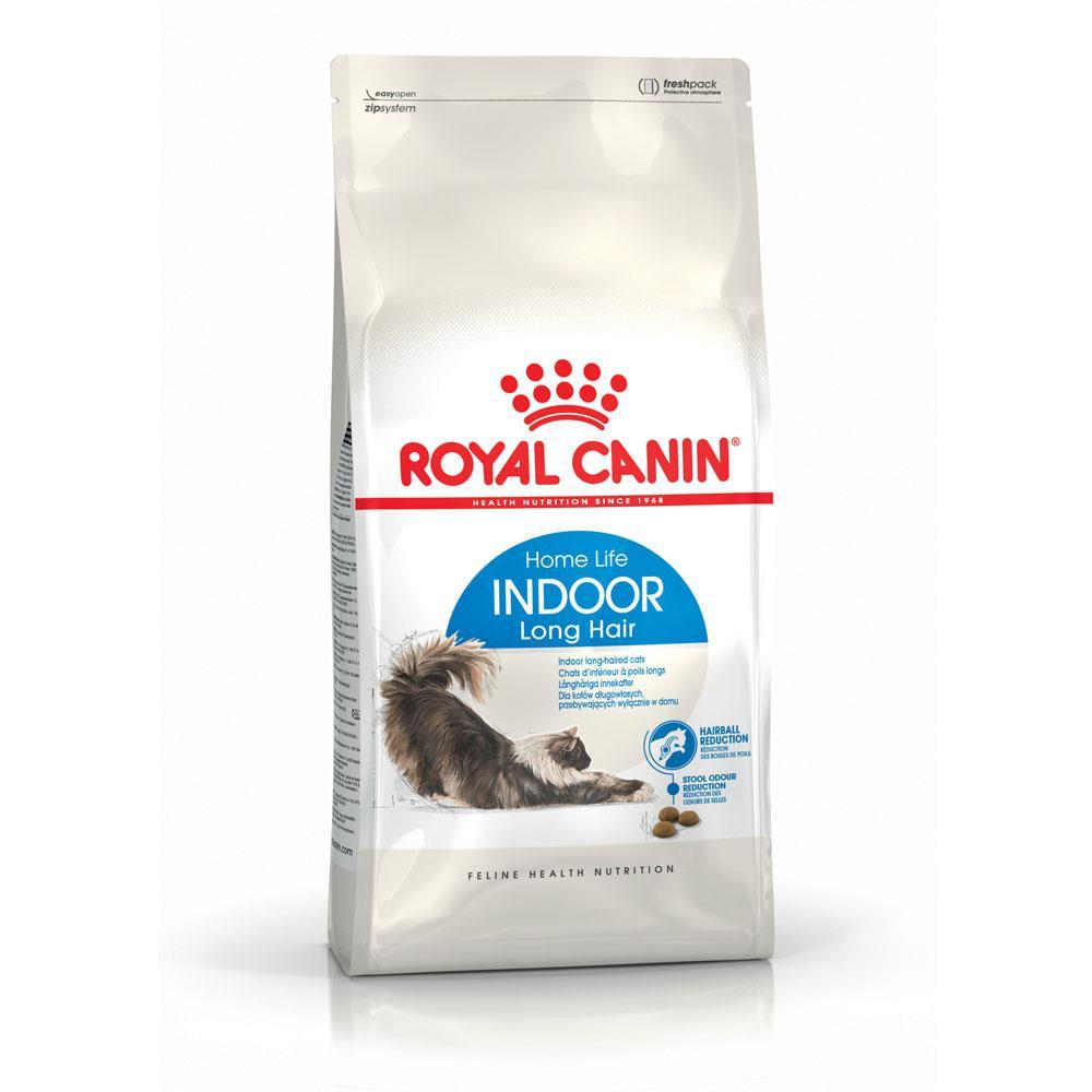 Royal Canin Indoor Long Hair 35 - корм Роял Канин для длинношерстных домашних кошек