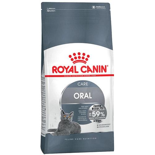 Royal Canin Oral Care - корм Роял Канин для профилактики образования зубного налета у кошек