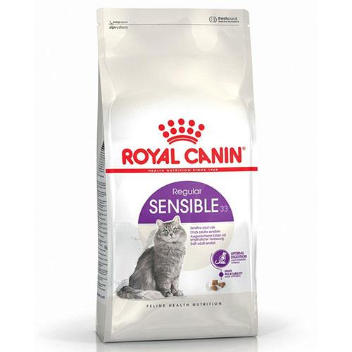 Royal Canin Sensible - корм Роял Канин для кошек с чувствительной пищеварительной системой