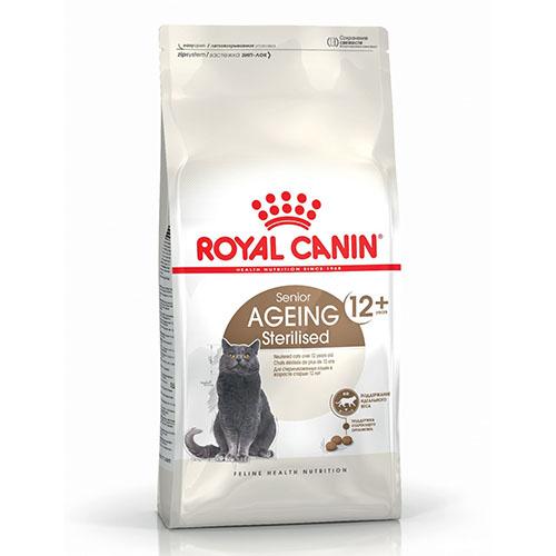 Royal Canin Sterilised 12+ - корм Роял Канин для стерилизованных кошек старше 12 лет