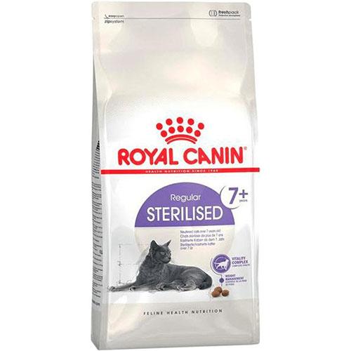 Royal Canin Sterilised 7+ - корм Роял Канин для стерилизованных кошек старше 7 лет