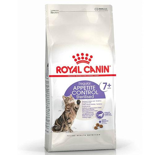 Royal Canin Sterilised Appetite Control 7+ - корм Роял Канин для стерилизованных кошек старше 7 лет