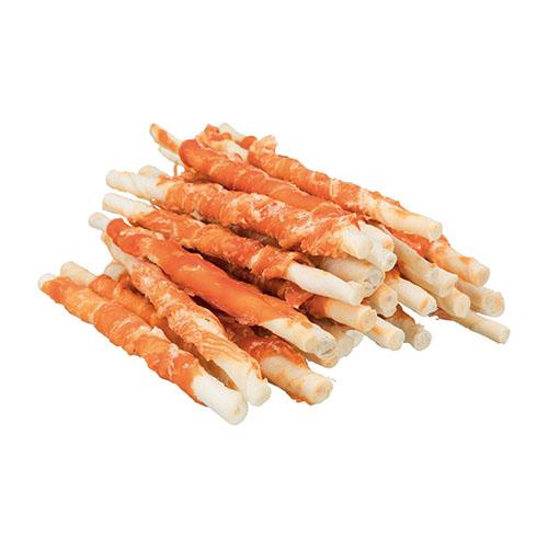 Trixie Denta Fun Chewing Rolls Лакомства для собак с уткой 240гр/12см