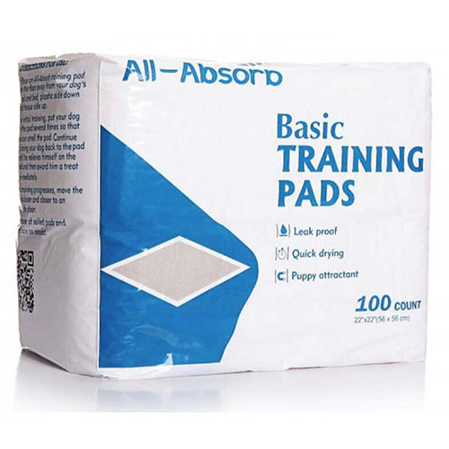 Пеленки для собак All-Absorb Basic Training Pads 56х56