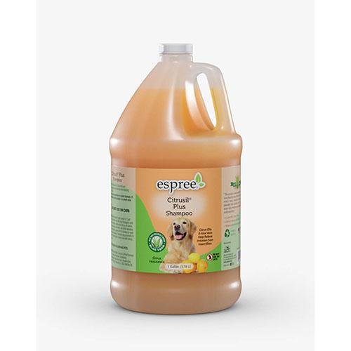 ESPREE (Эспри) Citrusil Plus Shampoo - Цитрусовый шампунь - плюс с цитрусовой маслом и алоэ вера для грязных собак с неприятным запахом шерсти