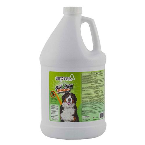 ESPREE (Эспри) Flea & Tick Oat Shampoo - Репеллентные шампунь для собак в возрасте от 3 месяцев