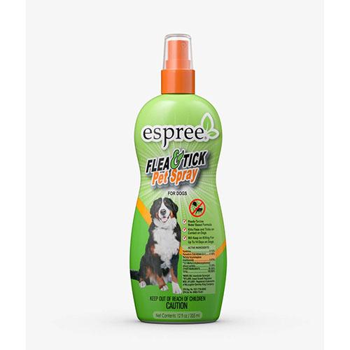 ESPREE (Эспри) Flea & Tick Pet Spray - Репеллентные спрей для собак в возрасте от 3 месяцев