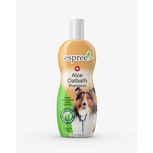 ESPREE (Эспри) Aloe Oatbath Medicated Shampoo - Шампунь с протеинами овса и алоэ вера