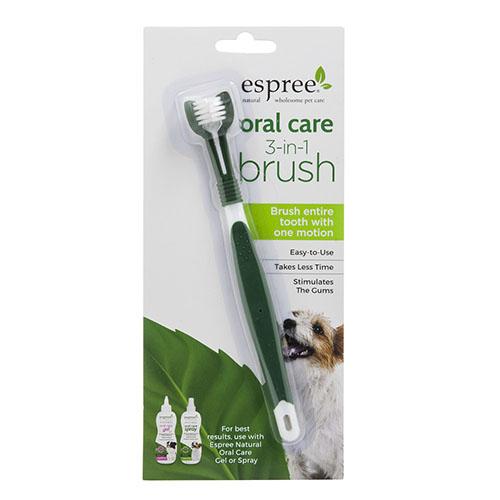 ESPREE (Эспри) Oral Care Toothbrush - Щетка для ухода за зубами и полостью рта собак