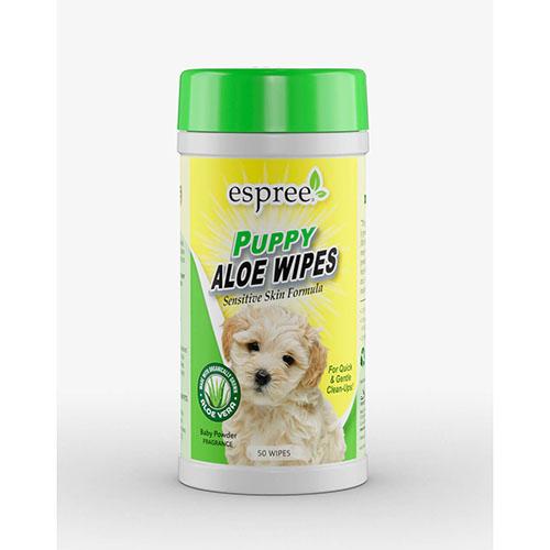 ESPREE (Эспри) Puppy Pet Care Wipes - Влажные салфетки для чистки щенков