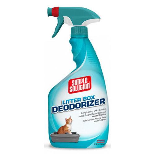 SIMPLE SOLUTION- Дезодорирующий средство для нейтрализации запахов в кошачьих туалетах