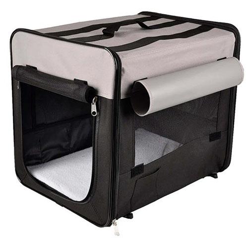 Flamingo Smart Top Plus - складная сумка переноска для собак, ткань