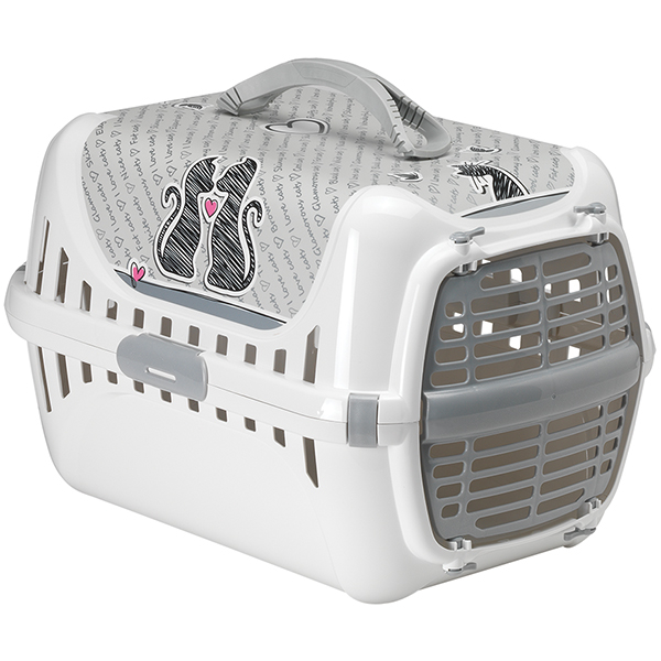 Moderna Trendy Runner Cats In Love - переноска для собак c пластиковой дверцей