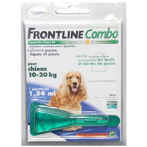 Фронтлайн Комбо Спот - ОН монопипетка для собак 10-20 кг (M)