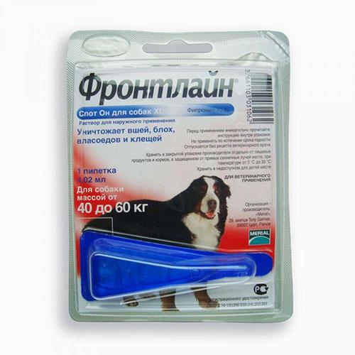 Фронтлайн Спот - ОН (Frontline spot-on) монопипетка для собак 40-60 кг (XL)