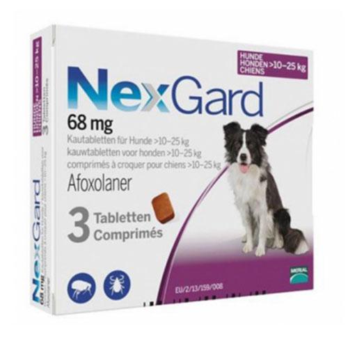 Нексгард (NexGard) 10-25 кг таблетка от блох и клещей