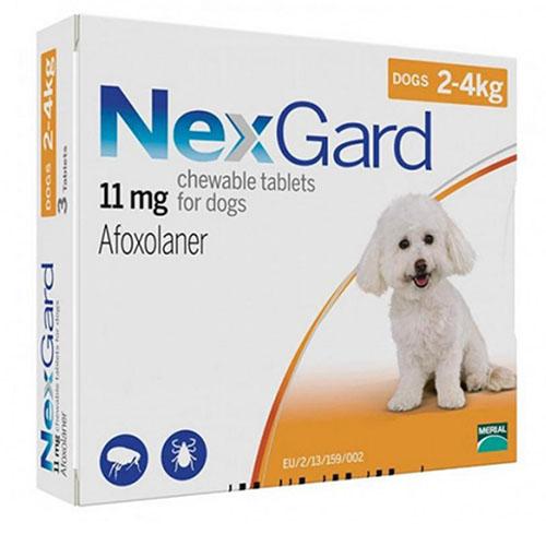 Нексгард (NexGard) 2-4 кг таблетка от блох и клещей